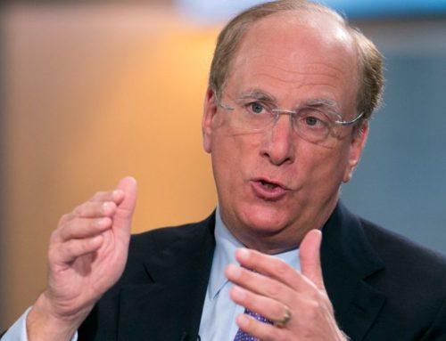 """CEO da BlackRock, Larry Fink: """"Temos a chance de tornar o mundo mais sustentável."""""""